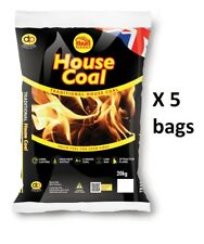 House Coal / Smokeless Ovals (Briquettes) - Open Fires, Multi Stoves - 20kg Bags