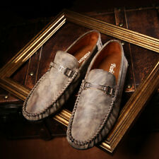 Mens 2017 Oxfords Comfy Loafer  Casual Leather Leisure Moccasins Driving Shoes B