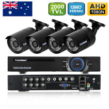 1TB HDD 1080N 8CH HDMI DVR 2000TVL Camera CCTV Home Surveillance Security System