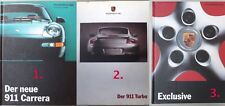 Porsche 911 Carrera from 08.1993 / Turbo Brochure Catalog from 08.1999 Choose1