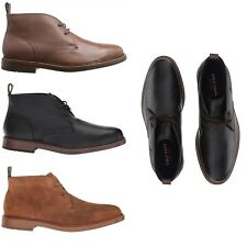 Cole Haan MENS Boots Leather Suede Adams Grand Chukka Leather Shoes NEW