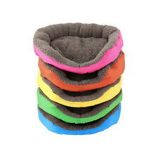 5 Colors Soft Pet Dog Puppy Cat Cozy Warm Nest Bed House with Plush Mat Pad RB