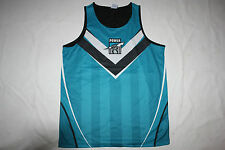 AFL New  Port Adelaide Power Youth Kids Training Singlet, sizes 6-14