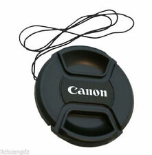 49mm-82mm Canon Camera Snap-on Lens Cap Cover with Cord Filter Lens Cap