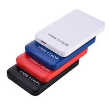 2.5'' SATA HDD External Enclosure Media Mobile Disk Box Case USB 3.0 Hard Drive