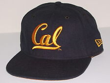 Vintage CAL BERKELEY NEW ERA TYRO.001 Fitted Baseball HAT NWOT NEW Old Stock