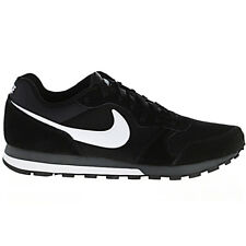 Nike Md Runner 2 Men's Shoes Trainers Black Sneakers Leisure Retro NEW