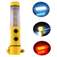6 in1 Multi-Function Safety Emergency Window Break Car LED Flashlight Hammer New