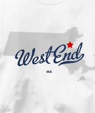 West End, Neighborhood of Boston, Massachusetts MA MA T Shirt All Sizes & Colors