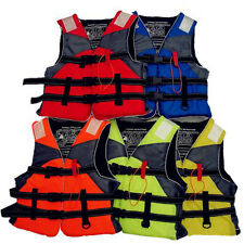 Fishing Clothes Life Jackets Swimsuit Adult Drift Reflective Strips TR