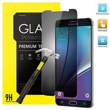 Privacy Anti-Spy REAL Tempered Glass Screen Protector For Samsung Galaxy J5