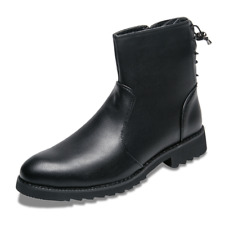 Men's Work Boots Non-Slip Leather Fashion Ankle Boots Martin Boots US7-10 58