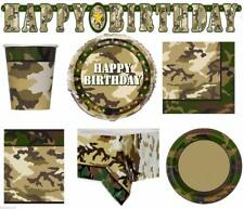 Camo Army Party Supplies-Nerf Party-Boys Party Supplies-Kids Parties Decorations