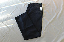 OLD NAVY KHAKI PANTS MENS BROKEN-IN LOOSE CLASSIC NAVY COLOR SIZE 36X34 NWT