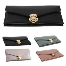 Women Lady Clutch Leather Wallet Long Card Holder Phone Bag Money Purse Handbags