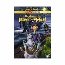 The Adventures of Ichabod and Mr. Toad (DVD, 2000, Gold Collection Ed.) Canada