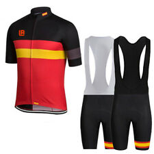 Mens Cycling Short Sleeve Jersey Shorts Suits Bicycle Sports Wear Clothing Sets