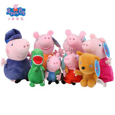 Peppa Pig Family George Plush Toys for Children Hobbies Dolls Stuffed
