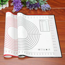 Silicone Dough Rolling Mat Baking Mat Pastry Clay Pad Sheet Liner Non-Stick Red