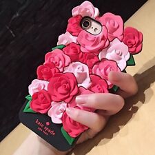 3D Rose Flower Style Soft Silicone Phone Case Cover For iPhone 7 / 7 Plus