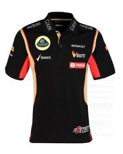 POLO SHIRT Mens Formula One 1 Lotus F1 Team PDVSA Grosjean 2014/5 US