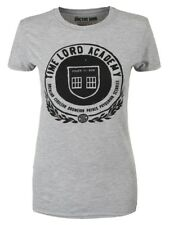 Doctor Who Time Lord Academy Women's Grey Dr Who T-shirt