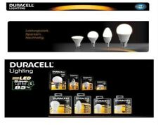 Duracell LED Lamp, Candle, Globe, Bulb, Dimmable, GU10, E14, E27 from by Piece