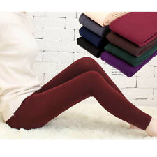 Women Winter Skinny Slim Thick Warm Stretch Pants Footless Tights Stockings