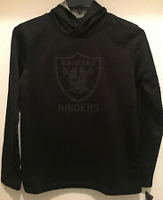 Oakland Raiders Youth Performance Pullover Hoodie - No Pockets -  NFL Licensed
