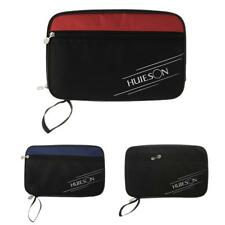 Portable Zippered Table Tennis Racket Case Bag For Ping Pong Paddle Bat