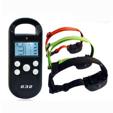 Electric Shock Remote 3 Dog Training Collar Rechargeable Anti Bark Collar Device