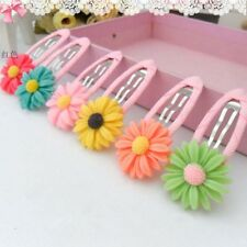 5pcs Kids Party Gifts Girls Daisy Flower Hair Clip Hairpin Hair Accessories