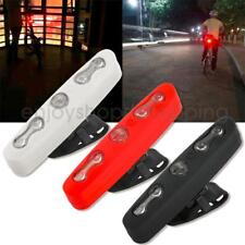 5 LED Bike Tail Light Bicycle Safety Cycling Warning Front/Rear Light, 7 Modes