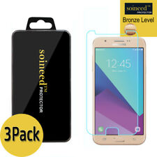 3-Pack SOINEED Samsung Galaxy J7 2017 Shockproof Protector Tempered Glass Screen