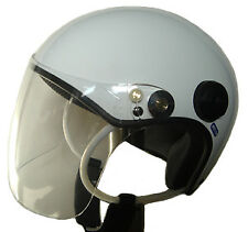 Hang vario paragliding helmet 4 colors open Face with shield visor for beginners