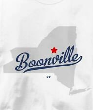 Boonville, New York NY MAP Souvenir T Shirt All Sizes & Colors