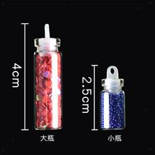 48 Colors Glitter Sequins Set for Nail Art UV Gel Tips Decoration Craft DIY