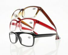 New Tinted Gradient Silver Rivet Reading Glasses Readers Various Strength Colors
