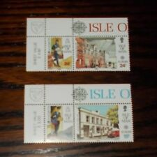 EUROPA POST OFFICE BUILDINGS 1990 ISLE OF MAN MINT STAMPS (MNH) - SELECT SET