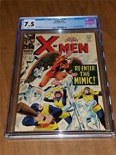 X-Men Comic Book No. 27 1966 Marvel CGC 7.5 VF WHITE Pages