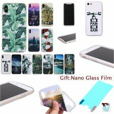 FILM+ Fashion SOFT RUGGED TPU Silicone 1.2 THICK Back Case Cover Skin For iPhone