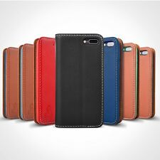 Leather Magnetic Flip Case Cover with Wallet For iPhone X 8 7 6 Plus Samsung S8+