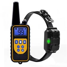 US Waterproof Pet Dog Training Remote Collar Rechargeable Electric Shock Kit New