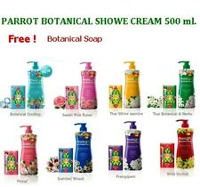 PARROT BOTANICAL Shower Cream Fascinating Traditional Flower Aroma Scent 500 ml.