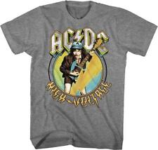 ACDC Malcolm Angus Young Classic Rock Band Guitarist CONCERT Adult T-Shirt 12