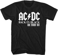 ACDC Malcolm Angus Young Classic Rock Band Guitarist CONCERT Adult T-Shirt 16