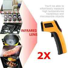 GM320 Handheld Thermometer Non Contact IR Laser Infrared Digital Temperature%^D