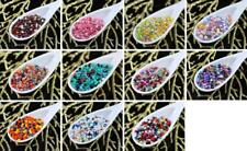 20g Mix Multicolor Czech Glass Round Seed Beads 11/0 PRECIOSA Pearls Rocaille Sp