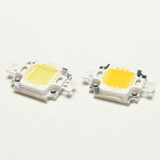 2/10x 10W Cool/Warm White High Power 30Mil SMD Led Chip Flood Light Bead FB