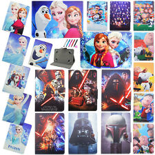 """Kids Cartoon Leather Stand Flip Folio Cover Case For Universal RCA 7"""" Tablets PC"""